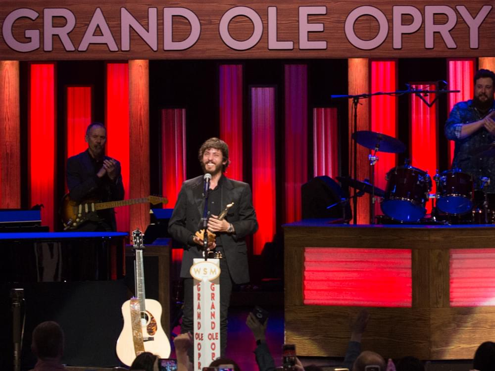 """Watch Chris Janson's """"Dreams Come True"""" With Grand Ole Opry Induction"""