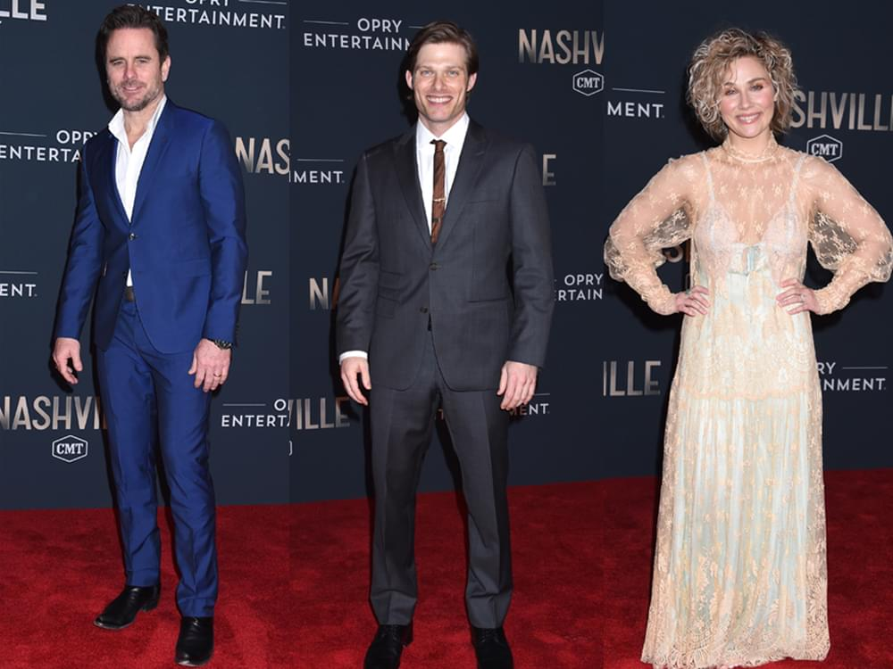 "Red Carpet Photo Gallery of ""Nashville"" Cast's Farewell Concert at the Opry, Including Charles Esten, Chris Carmack, Clare Bowen & More"