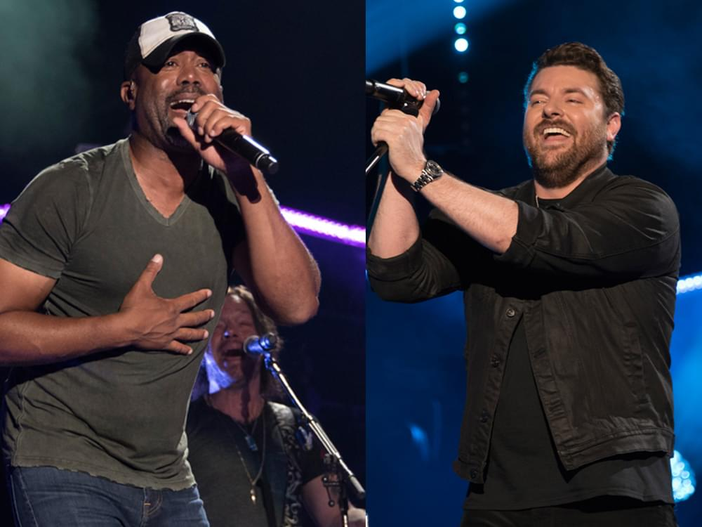 ACM Awards Announces Collaborations and Additional Performers, Including Dan + Shay, Darius Rucker, Chris Young, Toby Keith & More