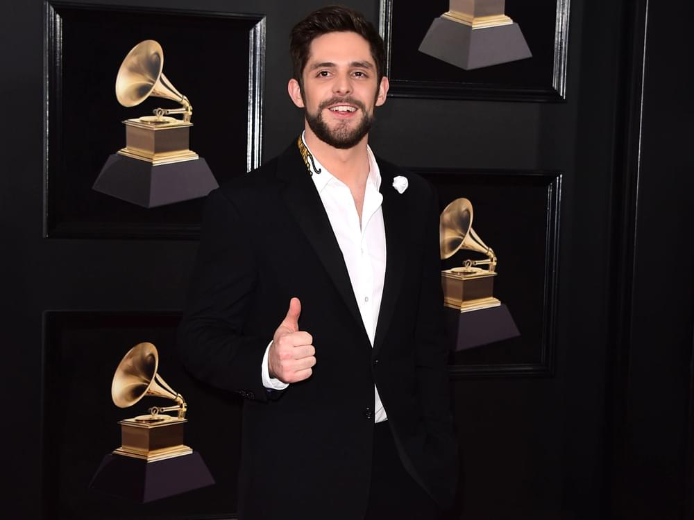 """Thomas Rhett Says Multidimensional Ed Sheeran """"Is a Huge Inspiration and Hero"""" When It Comes to Global Success"""