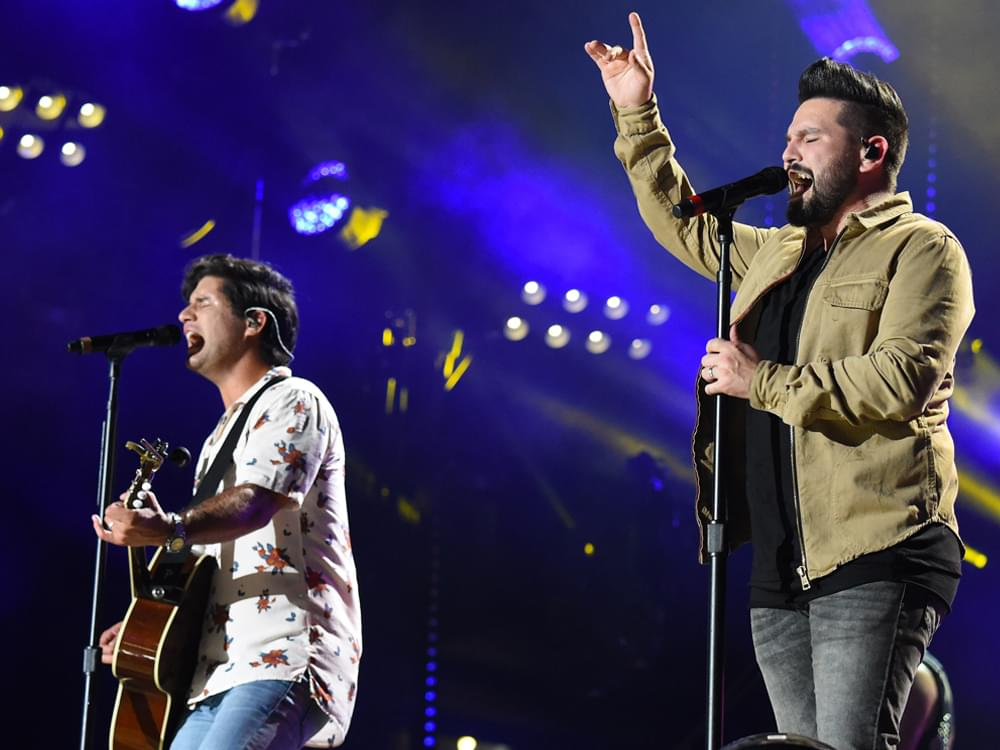 """Dan + Shay Double Up With No. 1 Self-Titled Album & No. 1 Single, """"Tequila"""""""