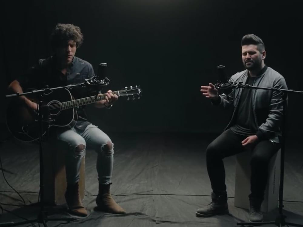 """Watch Dan + Shay Strip It Down With Acoustic """"Tequila"""" Video"""