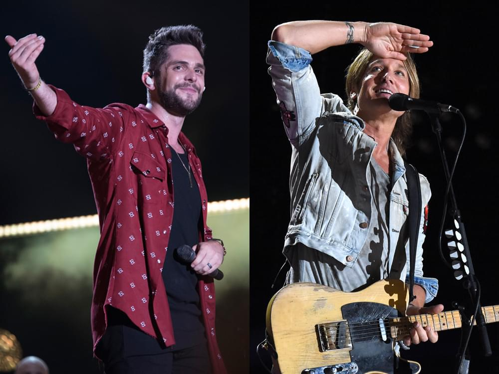 "Thomas Rhett & Keith Urban Join ""The Voice"" as Advisors for the Next Two Weeks"