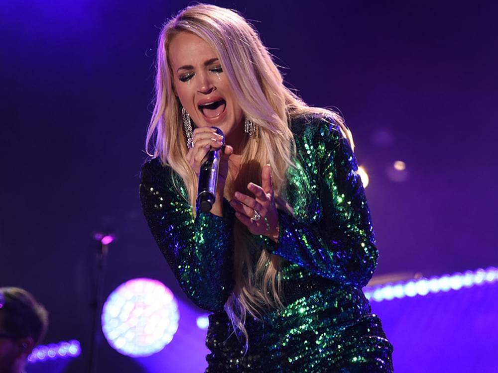 "Carrie Underwood to Launch All-Female ""Cry Pretty Tour 360"" in May 2019"