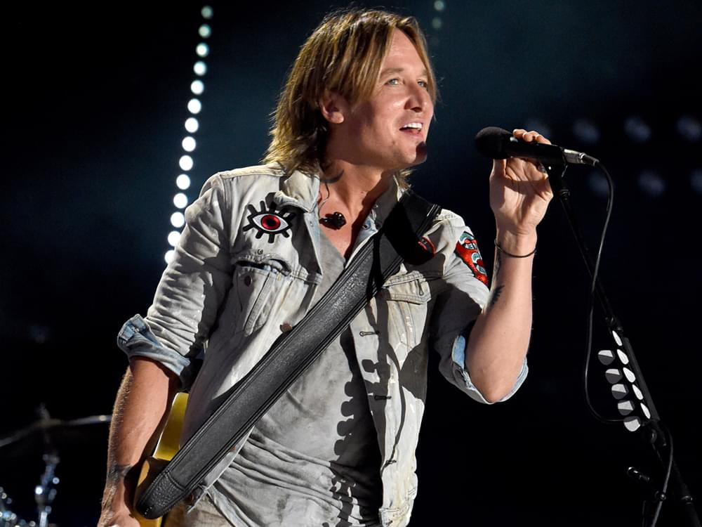 """Listen to Keith Urban's Feel-Good New Single, """"Never Comin' Down"""""""