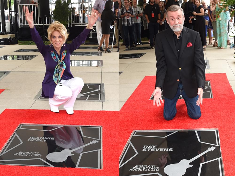 Ray Stevens, Jeannie Seely, Brenda Lee & Ben Folds Inducted Into Music City Walk of Fame [Photo Gallery]