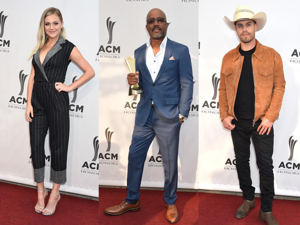 63 of Our Favorite Red Carpet Photos From the ACM Honors, Including Dierks, Darius, Dustin, Kelsea, Kip, Cam & More