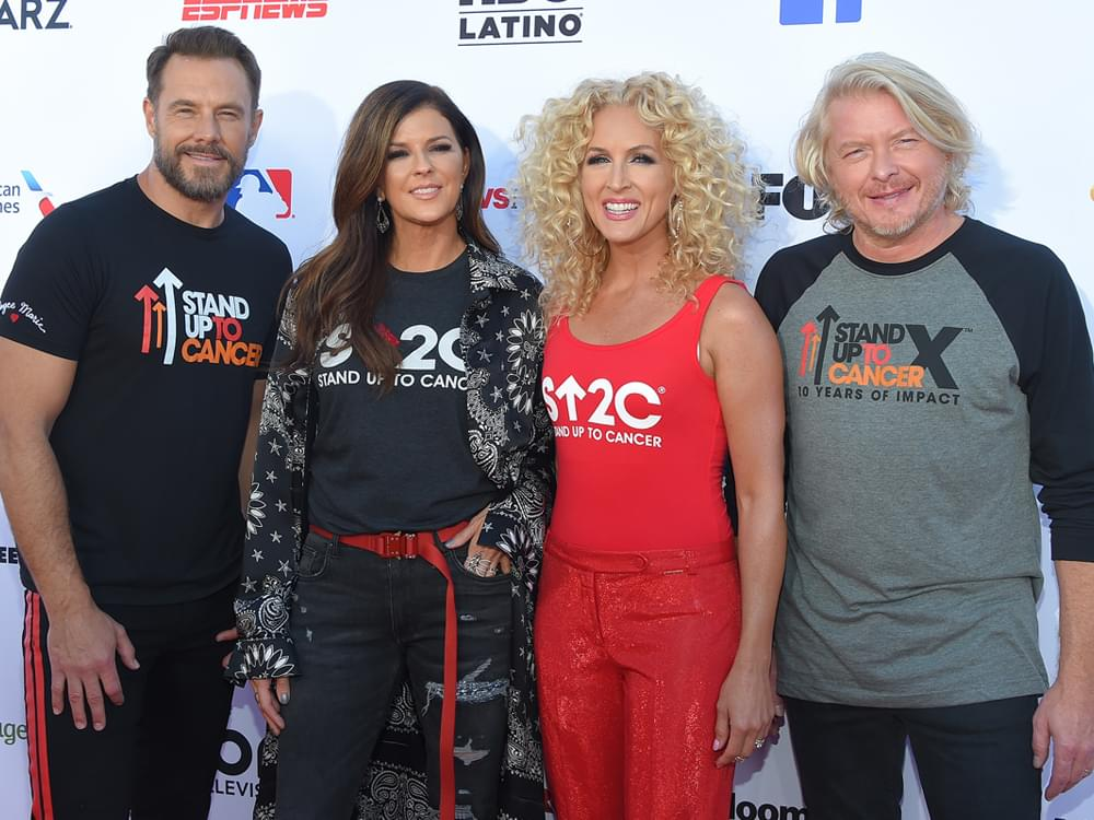 "Watch Little Big Town Perform ""With a Little Help From My Friends"" at ""Stand Up to Cancer"" TV Special"