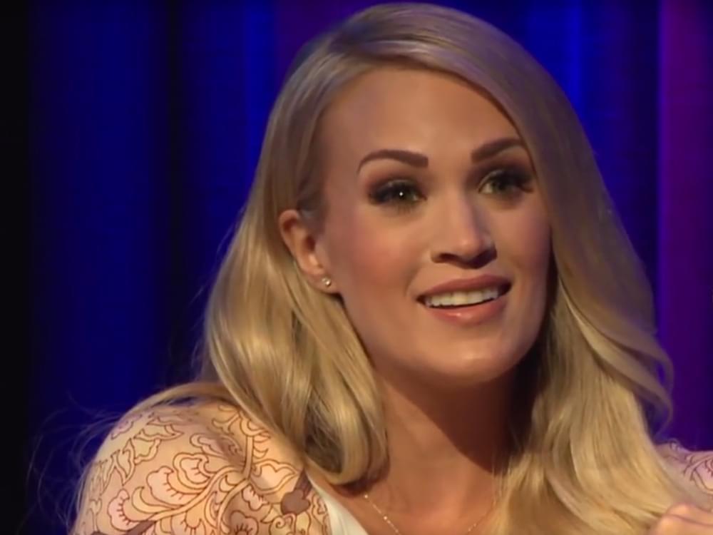 """Watch Carrie Underwood Spread the """"Love"""" on """"Ellen"""""""