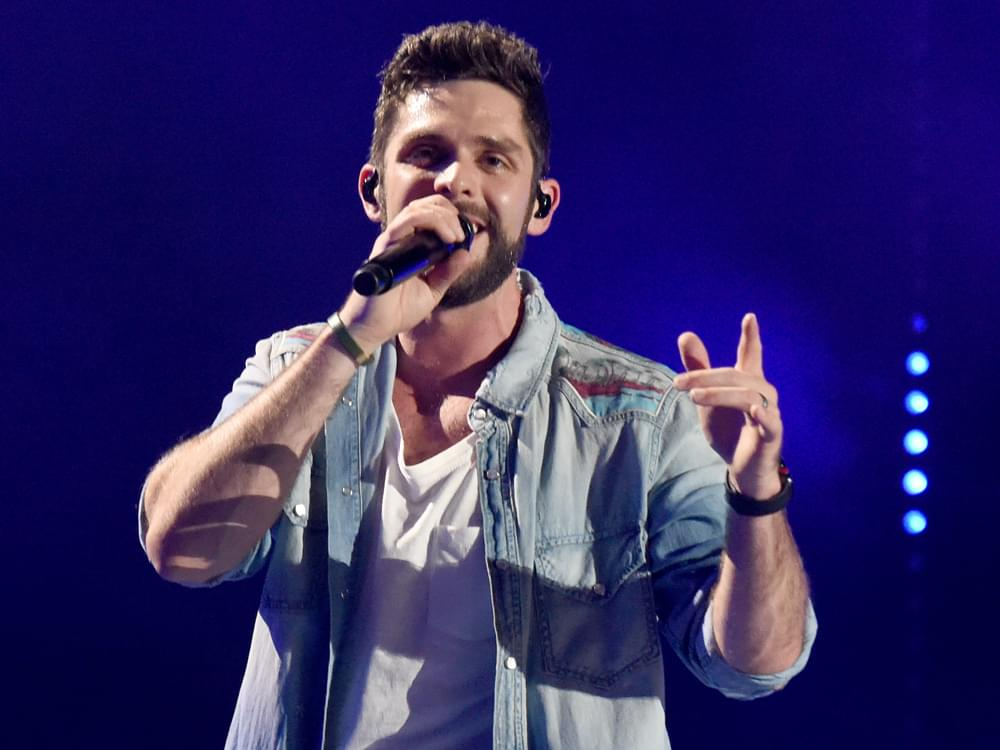 "Thomas Rhett Shares Sample of New Song, ""Look What God Gave Her"" [Listen]"