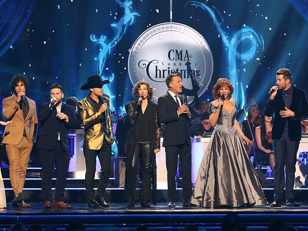 Photo Gallery: CMA Country Christmas With Reba, Dan + Shay, Brett Eldredge, Dustin Lynch, Martina McBride, Brad Paisley & More