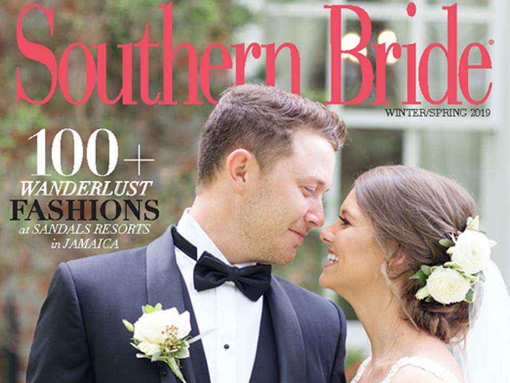 "Scotty McCreery & Gabi Dugal Featured on the Cover of ""Southern Bride"" Magazine"