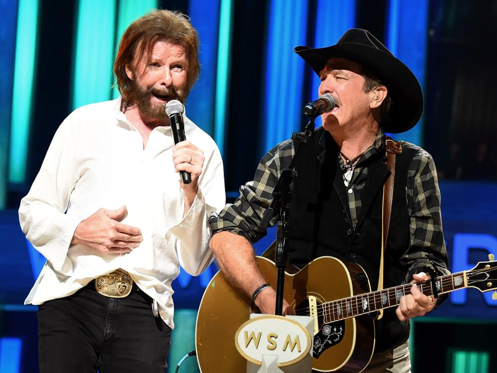 """Brooks & Dunn Team With Luke Combs & Kane Brown on Rebooted Versions of """"Brand New Man"""" & """"Believe"""" [Listen]"""