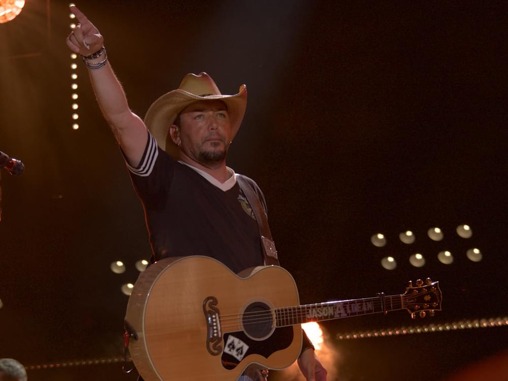 "Jason Aldean Moves Forward With New Single, ""Rearview Town"" [Listen]"