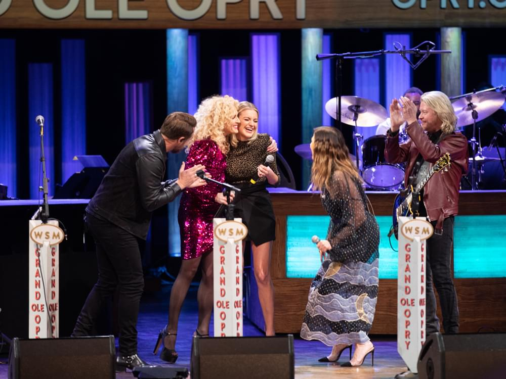 Watch Little Big Town Surprise Kelsea Ballerini With an Invitation to Join the Grand Ole Opry