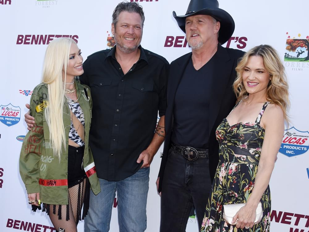 "Blake Shelton, Gwen Stefani, Trace Adkins & More Walk the Red Carpet at L.A. Premiere of ""Bennett's War"" [Photo Gallery]"
