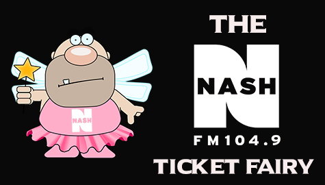 The NASH-FM Ticket Fairy!