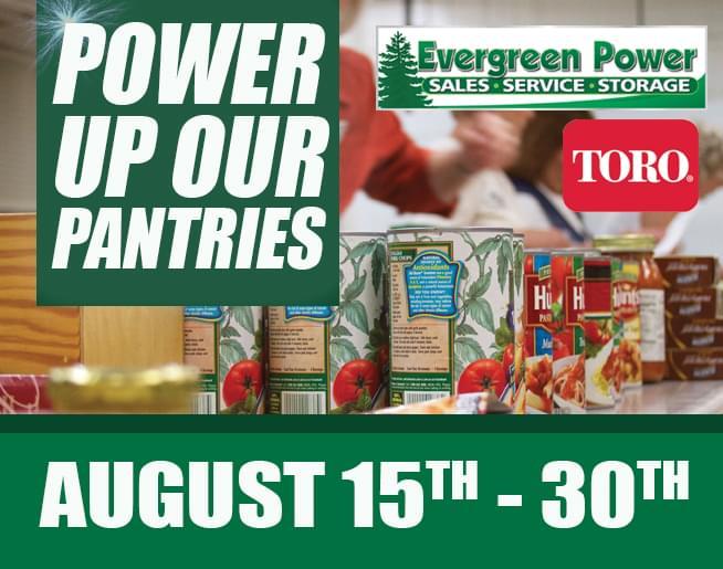 Evergreen Power Food Drive