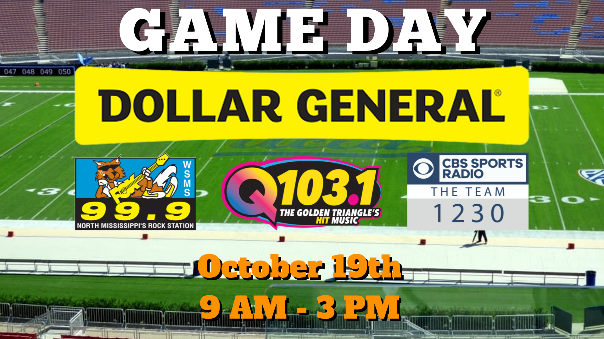 Game Day at Dollar General