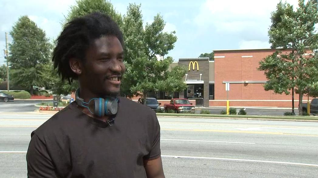 Woman taunts McDonald's employee for sleeping at work; turns out there's more to the story