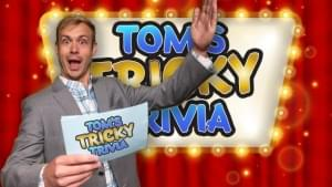 Tricky Ricky Show  (Tom's Tricky Trivia) Tuesday 10-15-2019