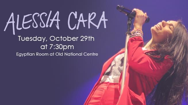October 29 – Alessia Cara