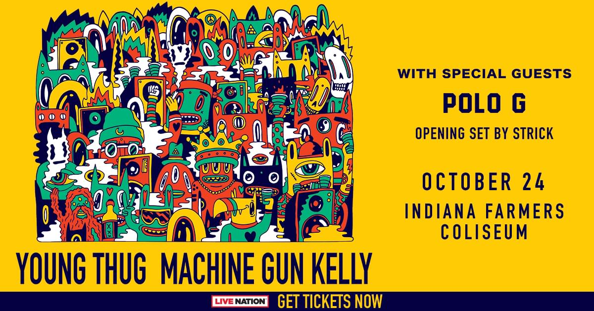 October 24 – Young Thug & Machine Gun Kelly