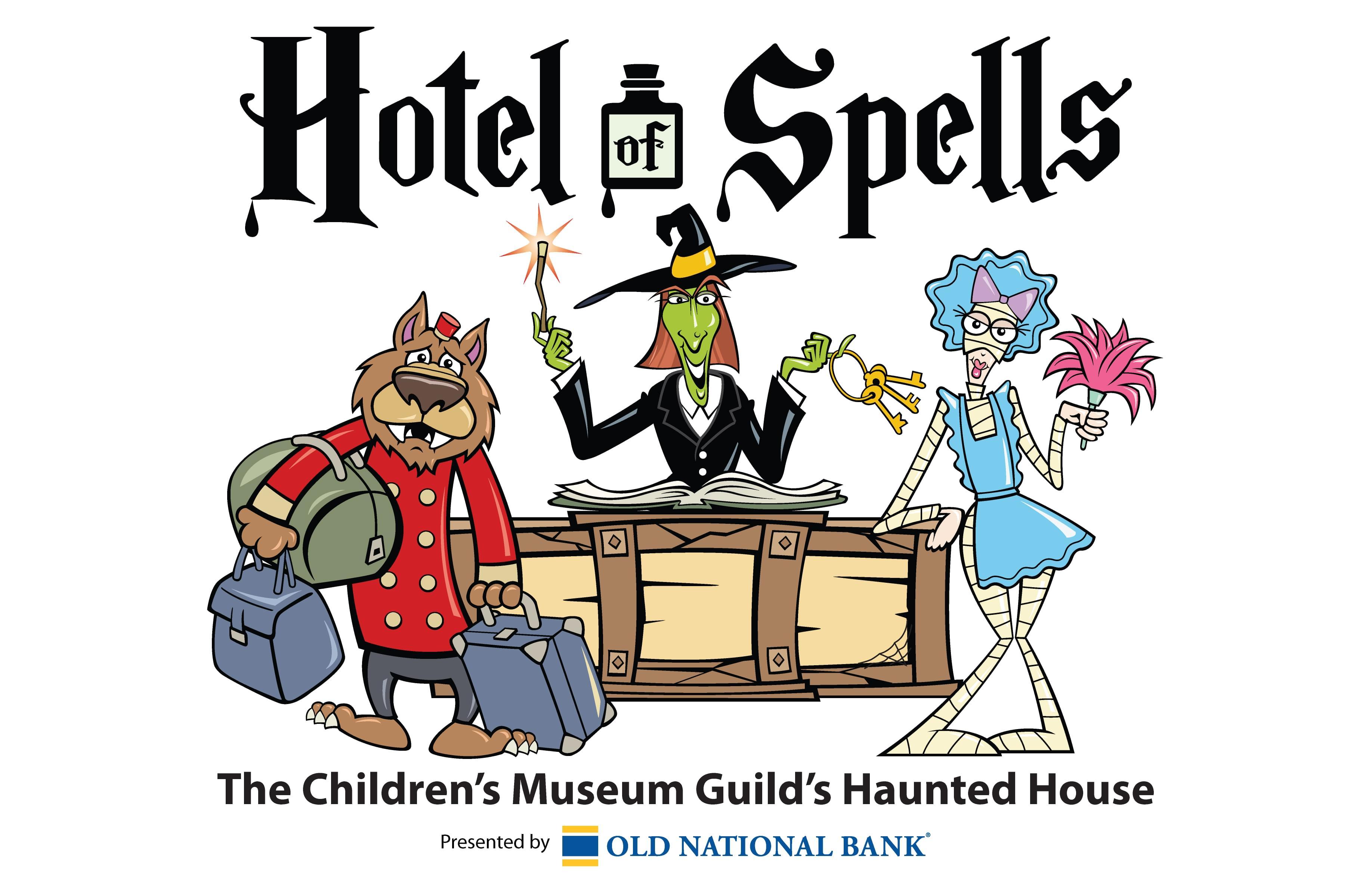 October 11-31 The Children's Museum Guild's Hotel of Spells