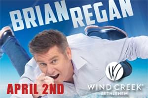 Brian Regan at Wind Creek Event Center April 2nd
