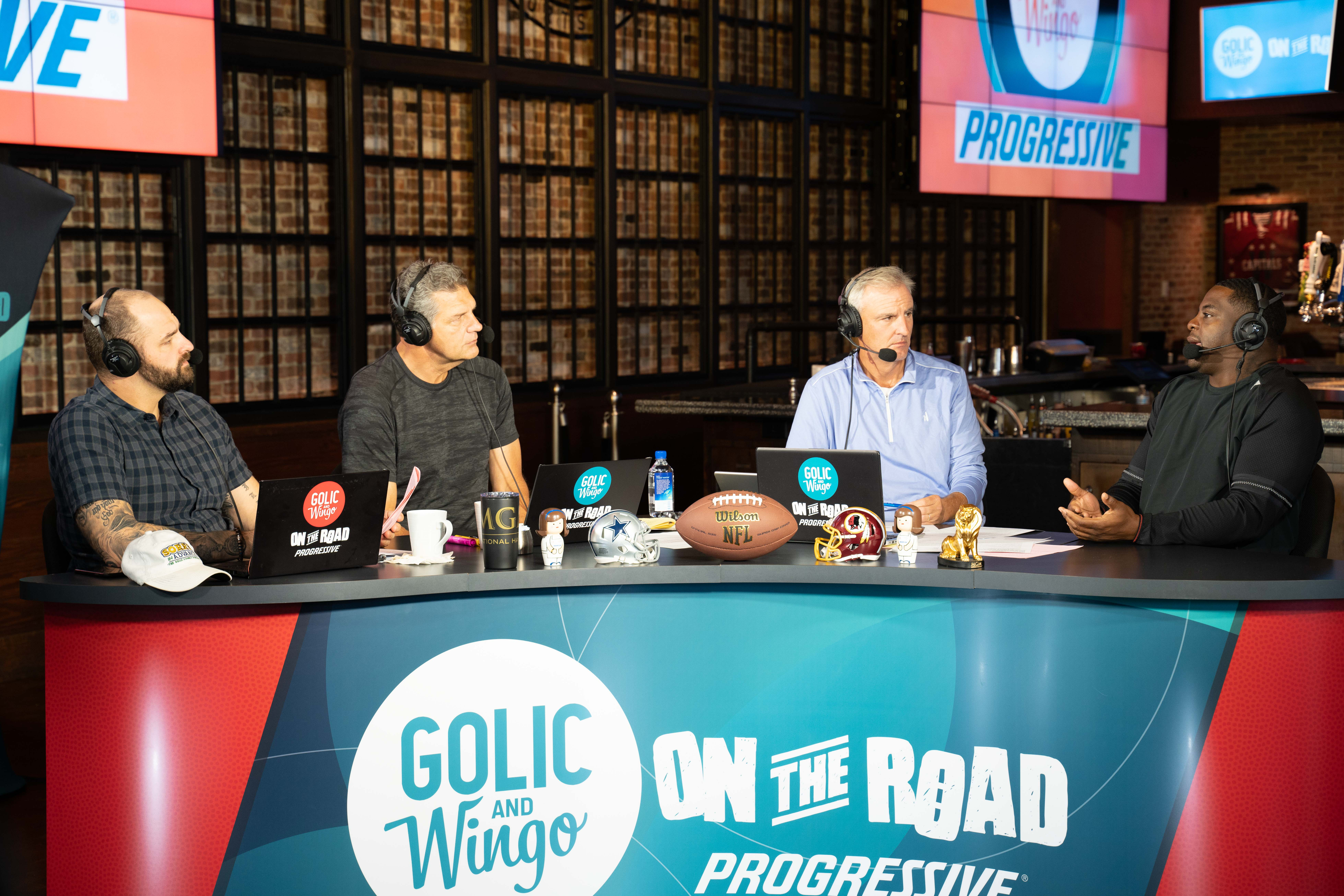 Golic and Wingo Live Broadcast from MGM National Harbor
