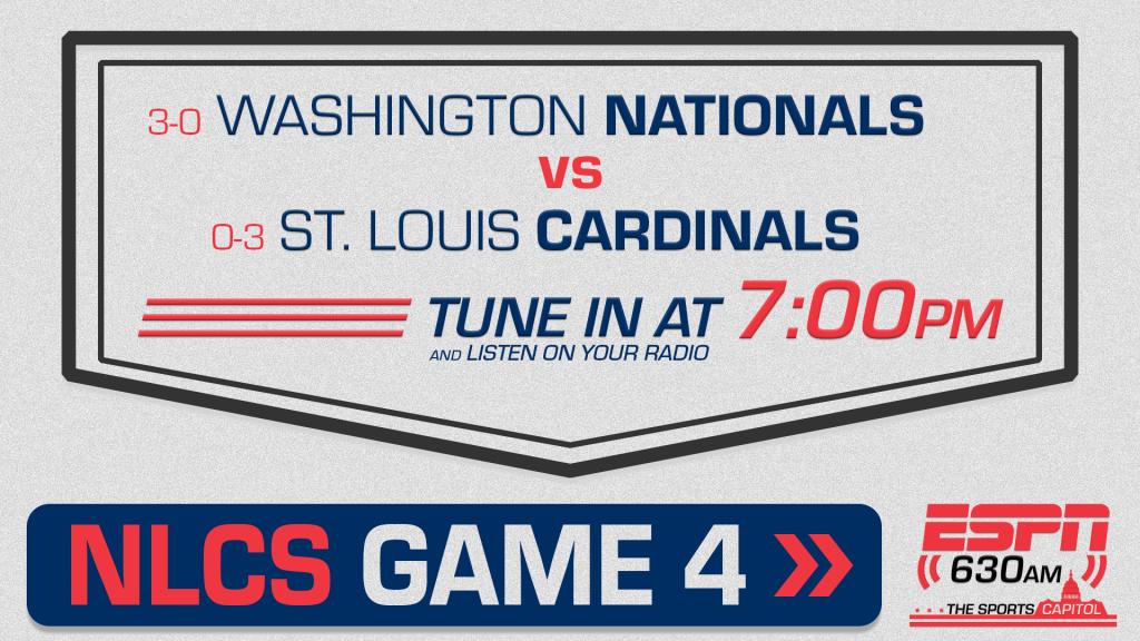 NLCS Game 4 Nationals vs Cardinals