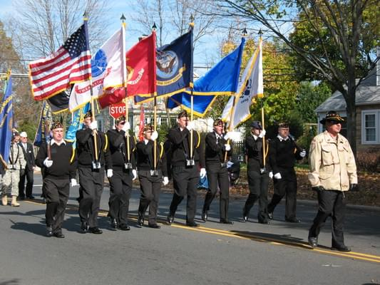 Join Us At The Northern Virginia Veterans Parade – 11/2/19