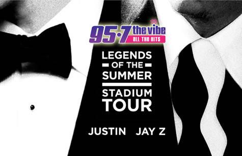 Justin Timberlake & Jay-Z All Access Fly-Away!