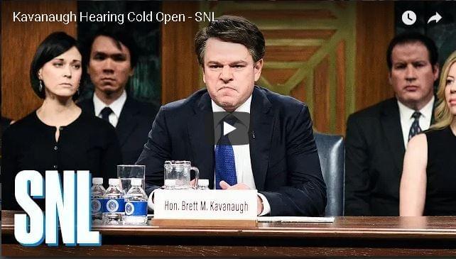 Matt Damon Plays Brett Kavanaugh on Season Premiere of SNL – Kanye Performs