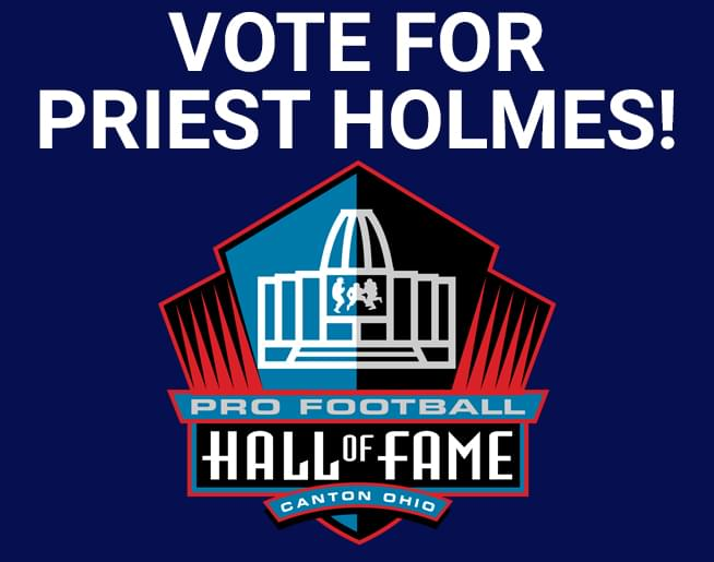 Vote for Priest Holmes & WIN!