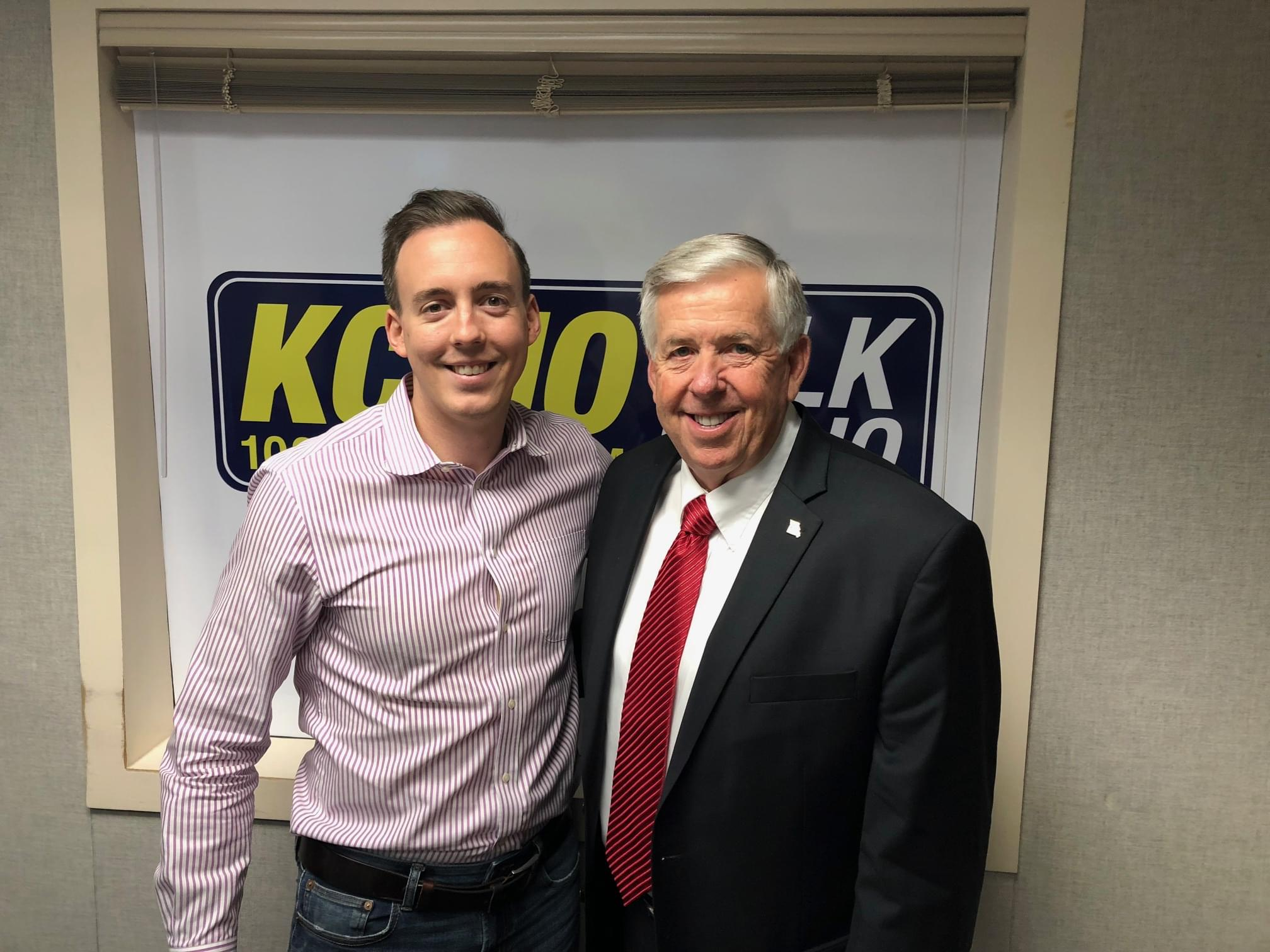 Missouri Governor Mike Parson Joins KCMO