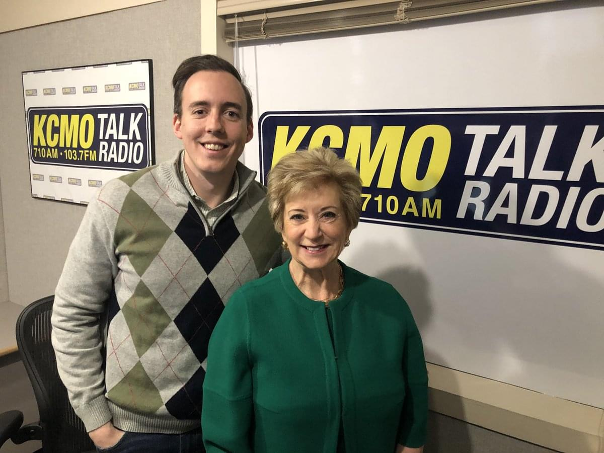 Head of Small Business Administration, Linda McMahon Joined Pete Mundo on KCMO