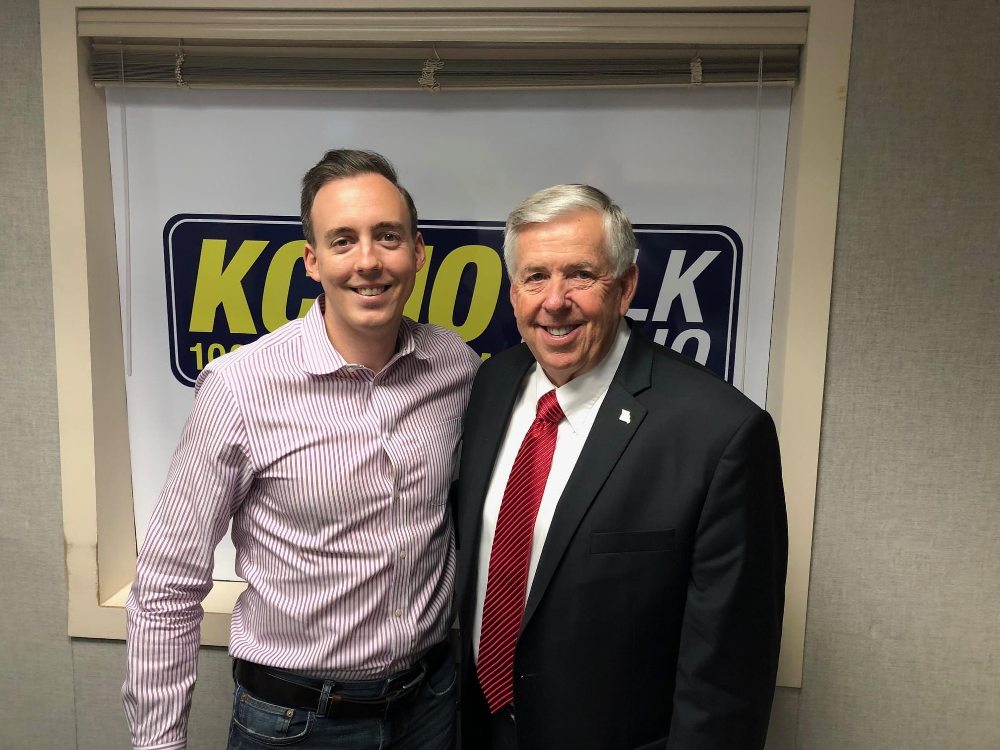 Missouri Governor Mike Parsons Talks Flooding with Pete Mundo