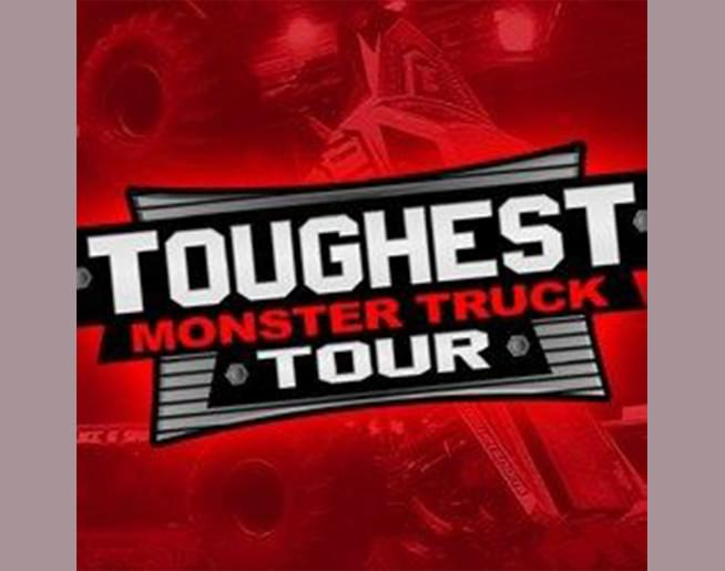 Toughest Monster Truck Tour Silverstein Eye Centers Arena on April 3rd and 4th, 2020