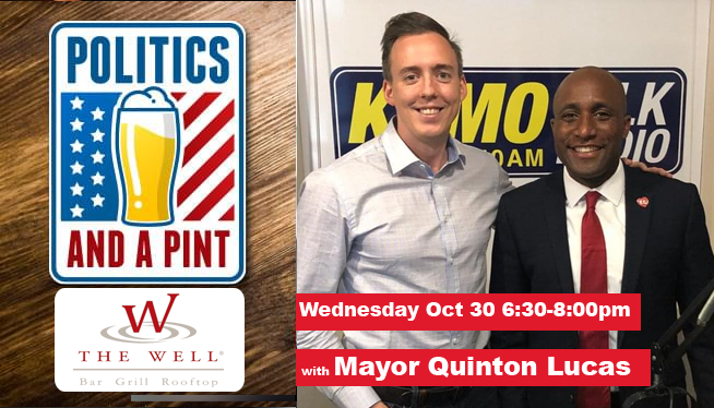 Politics and a Pint with Mayor Quinton