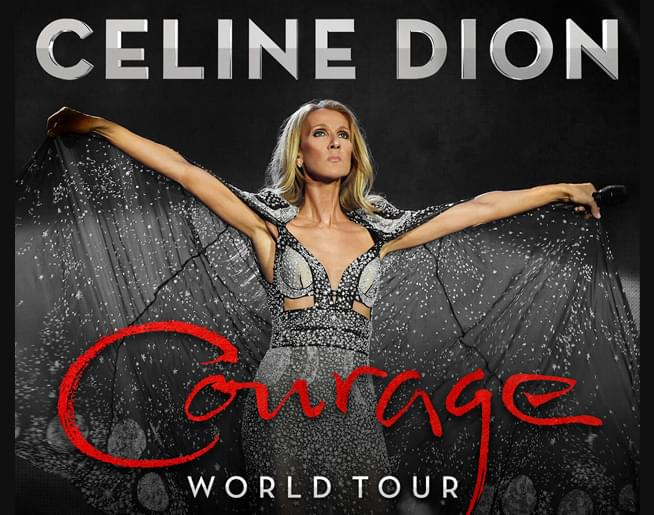 Celine Dion – Courage World Tour on Oct. 28