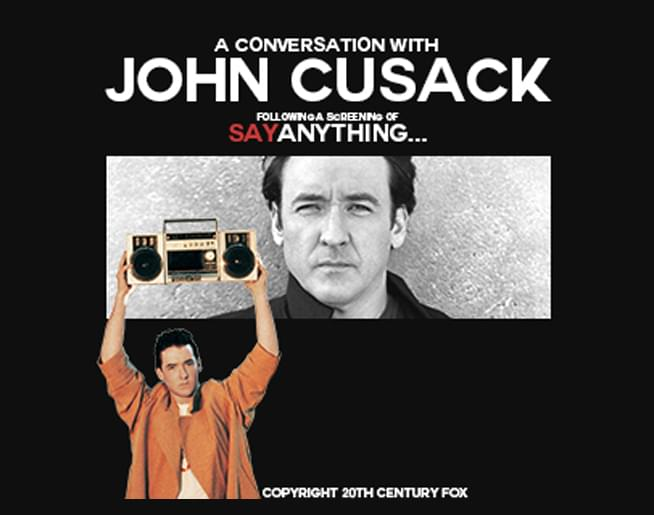 DATE CHANGE: John Cusack at The Midland on Nov. 1