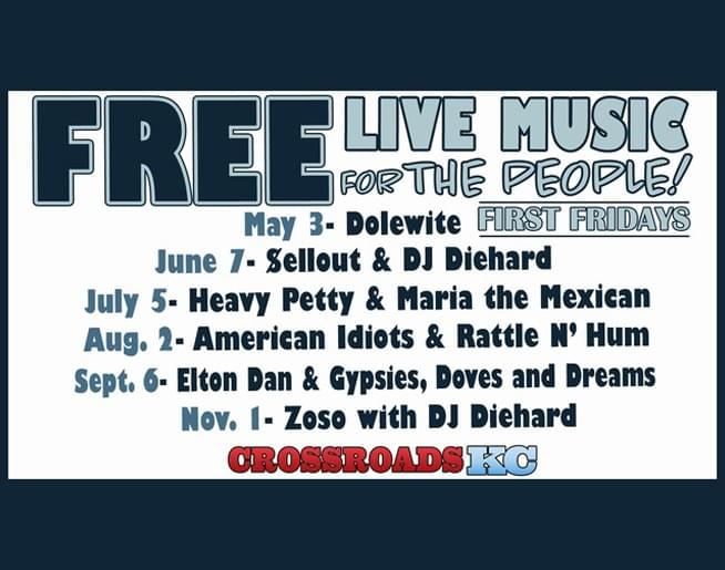 first friday concert series