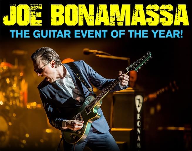 Joe Bonamassa at The Midland Nov. 2