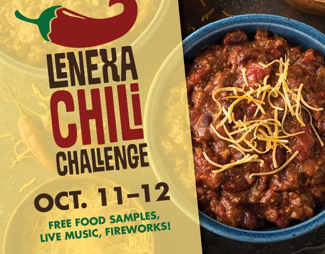 Lenexa Chili Challenge on Oct. 11–12, 2019