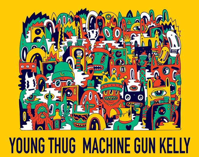 Young Thug + Machine Gun Kelly // 10.30.19 @ Silverstein Eye Centers Arena