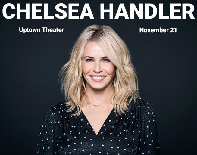 Chelsea Handler // 11.21.19 @ Uptown Theater