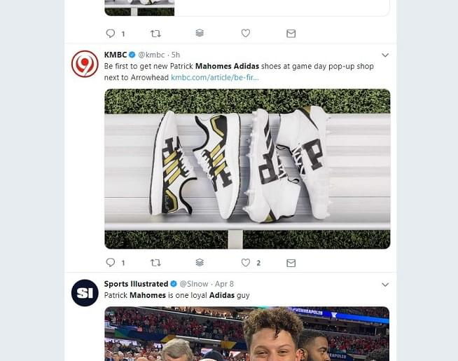 Patrick Mahomes & ADIDAS Sneaker Collab: Here's How To Get Them!