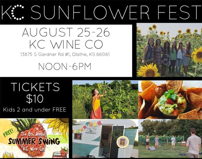 Sunflower Fest! August 25-26