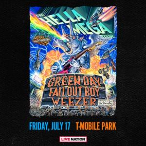 HELLA MEGA TOUR WITH GREENDAY, FALLOUT BOY, AND WEEZER